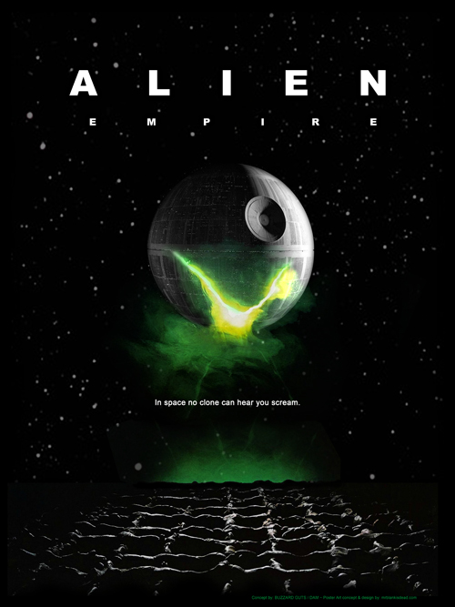 Alien Empire Poster